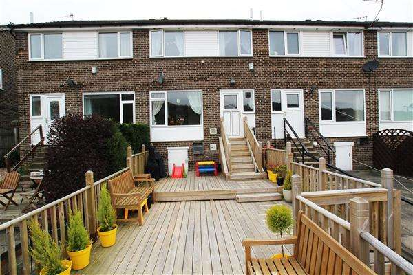3 Bedrooms Town House for sale in Parkdale Drive, Kebroyd, Sowerby Bridge