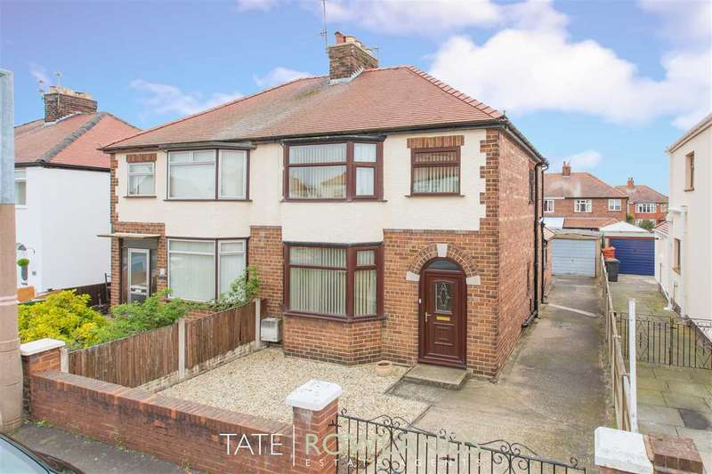 3 Bedrooms Semi Detached House for sale in Plymouth Street, Shotton