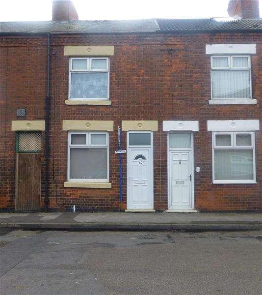 2 Bedrooms Terraced House for sale in John Street, Worksop, Worksop