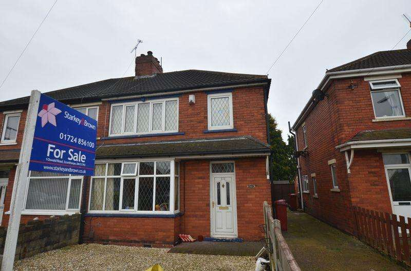 3 Bedrooms Semi Detached House for sale in Rowland Road, Scunthorpe
