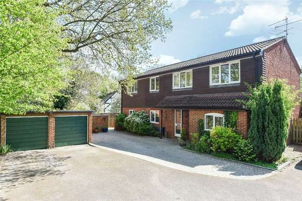 4 Bedrooms Detached House for sale in Westward Road, WOKINGHAM, Berkshire