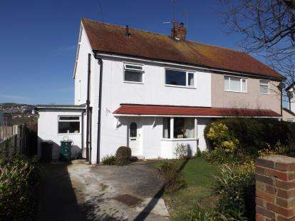 3 Bedrooms Semi Detached House for sale in Marston Road, Rhos On Sea, Colwyn Bay, Conwy, LL28