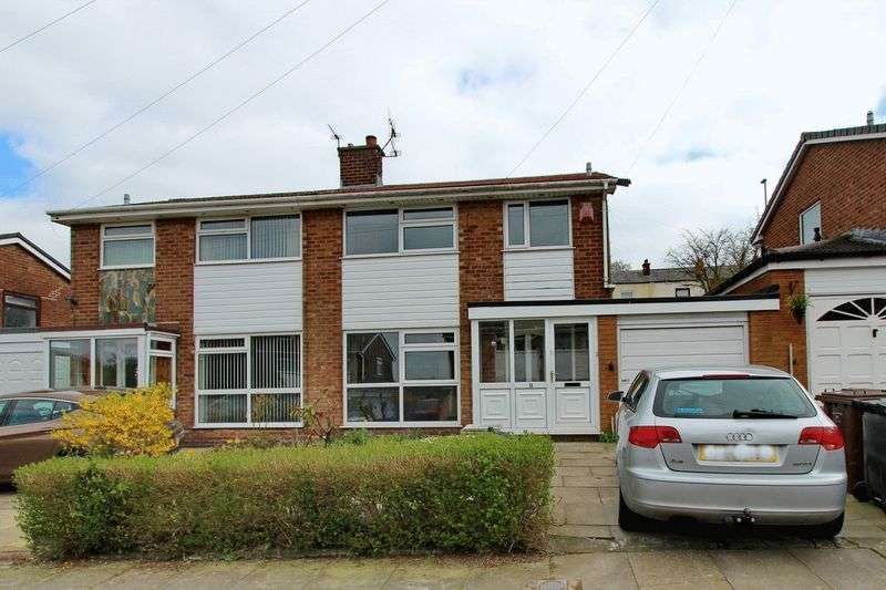 3 Bedrooms Semi Detached House for sale in Blenheim Close, Hollins, Bury