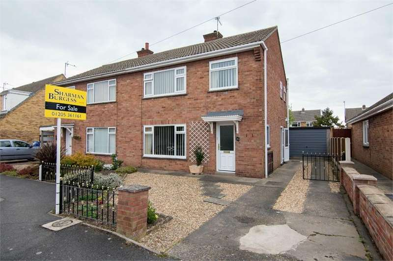 3 Bedrooms Semi Detached House for sale in Hardiway, Boston, Lincolnshire