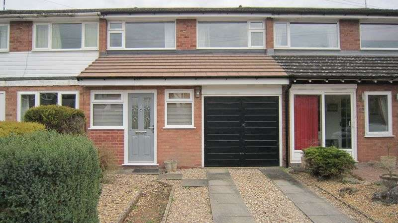 3 Bedrooms Terraced House for sale in Streamside Close, Allesley, Coventry