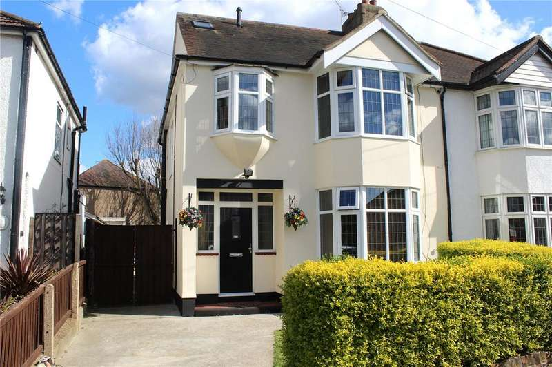 4 Bedrooms Semi Detached House for sale in Grey Towers Avenue, Hornchurch, RM11