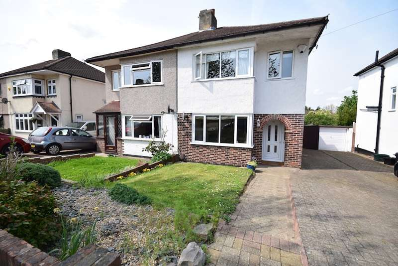 3 Bedrooms Semi Detached House for sale in Bassetts Way, Orpington, Kent, BR6