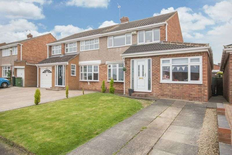 3 Bedrooms Semi Detached House for sale in Mayfair Avenue, Normanby, Middlesbrough, TS6 0SB