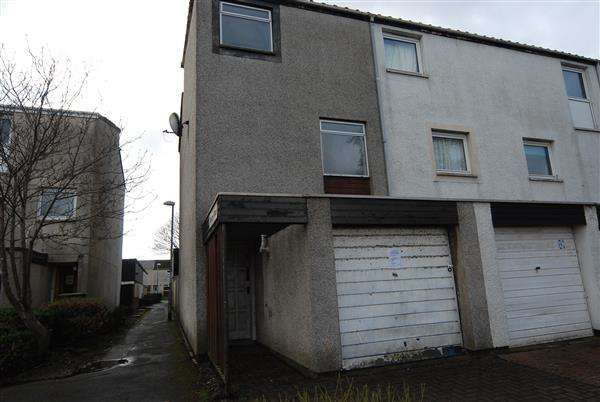 3 Bedrooms End Of Terrace House for sale in Glenapp Place, Kilwinning