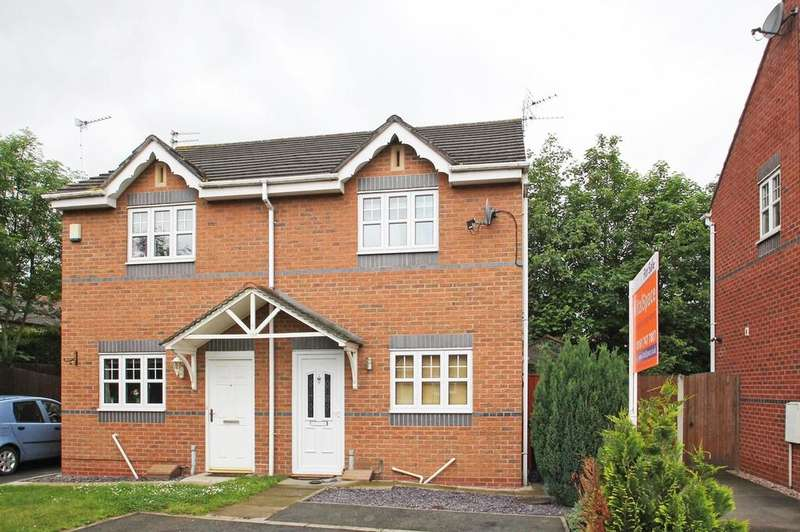 2 Bedrooms Semi Detached House for sale in Nursery Grove, Partington, Manchester, M31