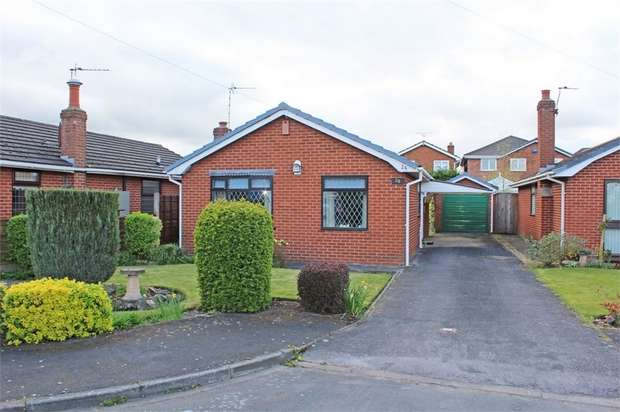 2 Bedrooms Detached Bungalow for sale in The Old Orchard, Antrobus, Northwich, Cheshire
