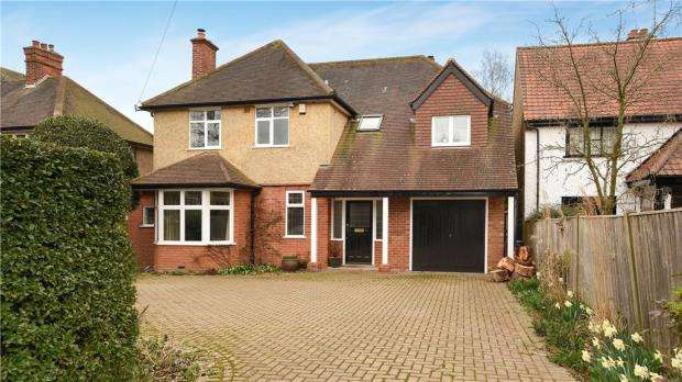 4 Bedrooms Detached House for sale in St. Peters Avenue, Caversham Heights, Reading