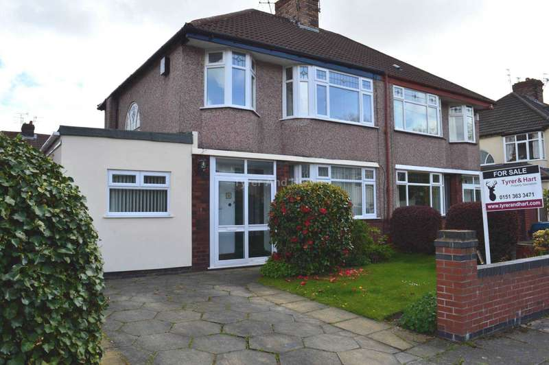 3 Bedrooms Semi Detached House for sale in Elder Gardens, Liverpool