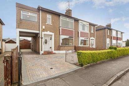 3 Bedrooms Semi Detached House for sale in Manor Road, Drumchapel
