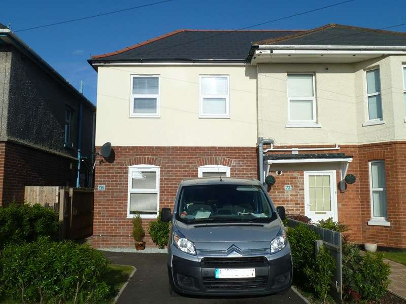 2 Bedrooms Semi Detached House for sale in Coombe Avenue, Ensbury Park, Bournemouth