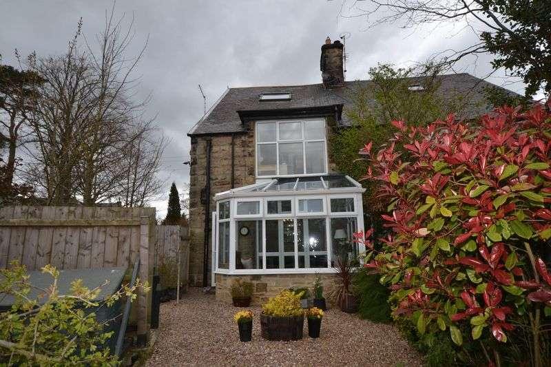 2 Bedrooms Semi Detached House for sale in The Elms, Longframlington
