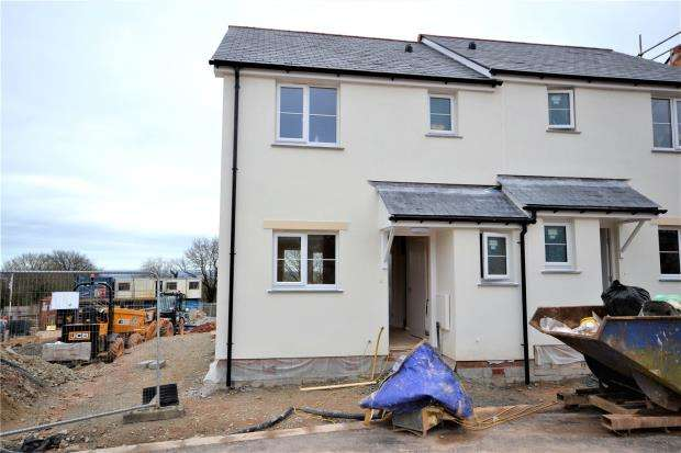 2 Bedrooms Semi Detached House for sale in Plot 23, St Anns Chapel, Gunnislake, Cornwall