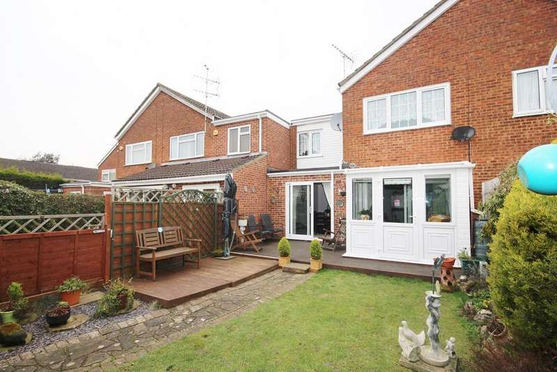 3 Bedrooms Terraced House for sale in Telscombe Way, Luton, LU2