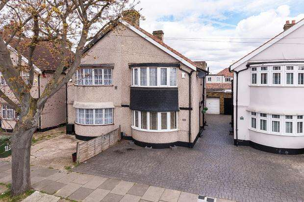 3 Bedrooms Semi Detached House for sale in Swanley Road, Welling, DA16