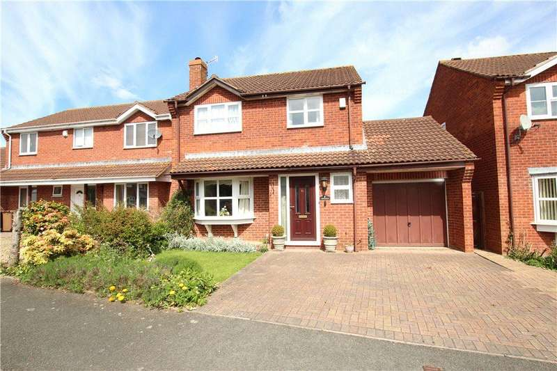 4 Bedrooms Detached House for sale in Campion Drive, Malvern, Worcestershire, WR14