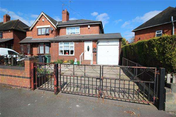 3 Bedrooms Semi Detached House for sale in Tame Street East, Walsall