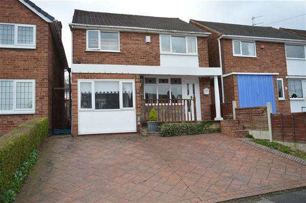 3 Bedrooms Detached House for sale in Kelway Avenue, Park Farm Great Barr, Great Barr, Birmingham