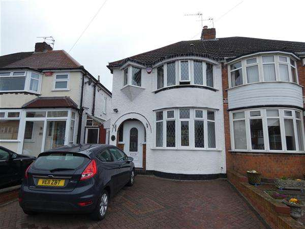 3 Bedrooms Semi Detached House for sale in Aldershaw Road, South Yardley, Birmingham