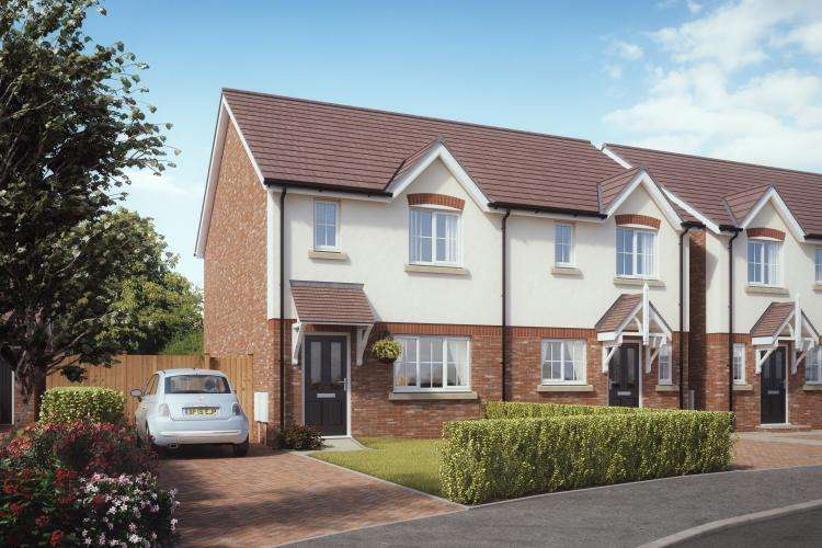 3 Bedrooms Semi Detached House for sale in Plot 9, Donnington, Kings Vale, Baschurch, SY4 2DP