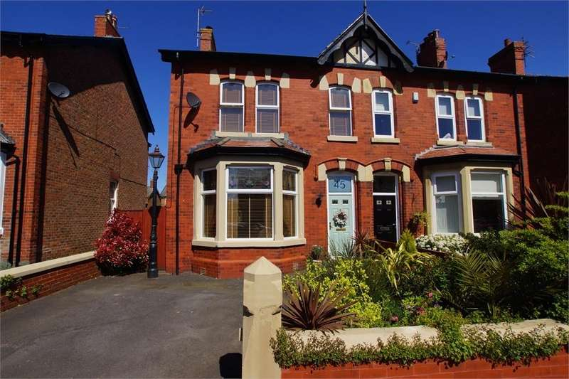 4 Bedrooms Semi Detached House for sale in Rossall Road, Ansdell, Lancashire