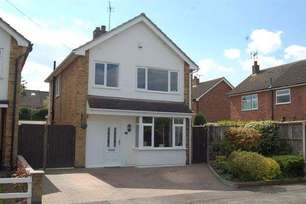 3 Bedrooms Detached House for sale in Salisbury Close, Blaby, Leicester, LE8