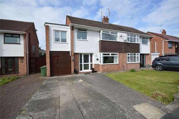 4 Bedrooms Semi Detached House for sale in Jocelyn Close, Spital, Merseyside