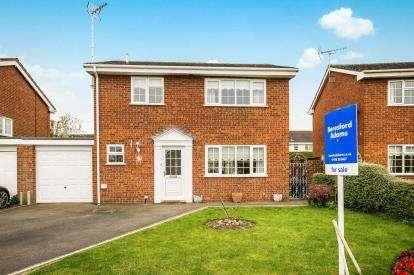 3 Bedrooms Detached House for sale in Grosvenor Crescent, Rossett, Wrexham, Wrecsam, LL12