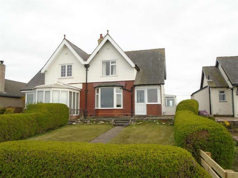 2 Bedrooms Semi Detached House for sale in Skinburness Road, Skinburness, Silloth, Cumbria