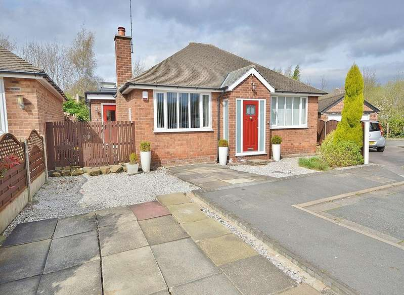 2 Bedrooms Detached Bungalow for sale in Whitby Close, Cheadle
