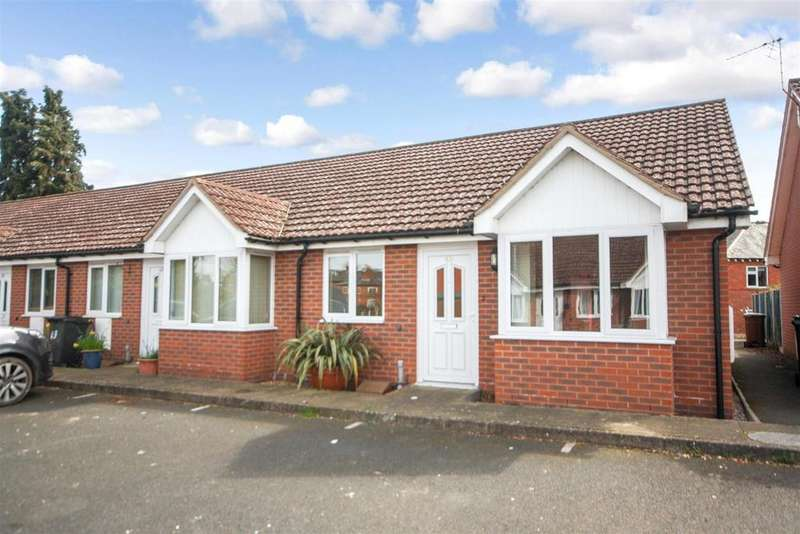 2 Bedrooms Terraced Bungalow for sale in Beresford Gardens, Oswestry