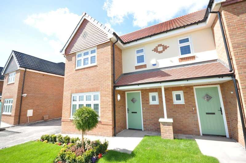 4 Bedrooms Semi Detached House for sale in Plot 7, The Sandringham, The Thatch, Garstang, Preston, Lancashire, PR3 1PJ