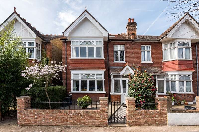 5 Bedrooms Semi Detached House for sale in Copthall Gardens, Twickenham, TW1