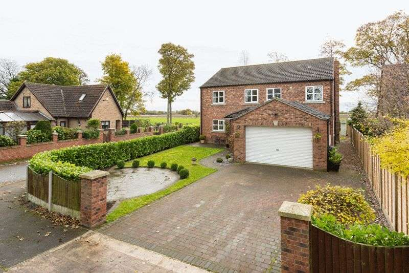 5 Bedrooms Detached House for sale in Hall Garth, Osgodby
