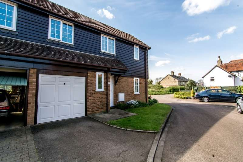 2 Bedrooms Semi Detached House for sale in Lakes Close, Langford, Bedfordshire, SG18
