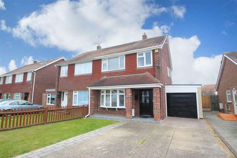 3 Bedrooms Semi Detached House for sale in Millers Barn Road, Clacton-On-Sea