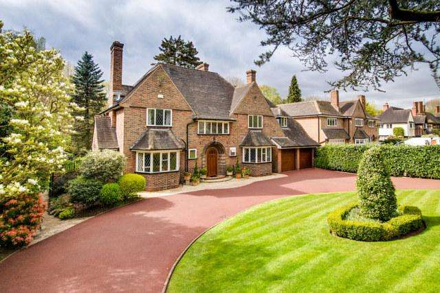 6 Bedrooms Detached House for sale in 10 Halloughton Road,Four Oaks,Sutton Coldfield