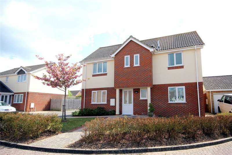 4 Bedrooms Detached House for sale in Cowslip Close, Christchurch, Dorset, BH23