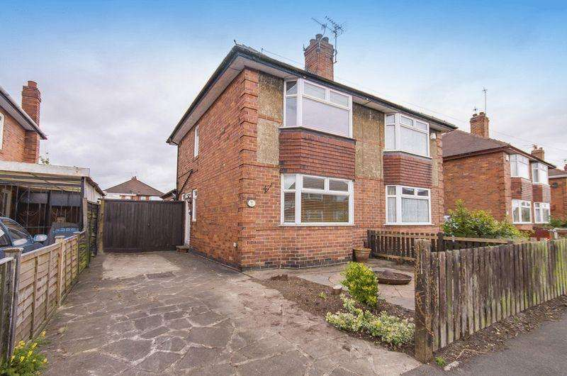 2 Bedrooms Semi Detached House for sale in WALDORF AVENUE, ALVASTON