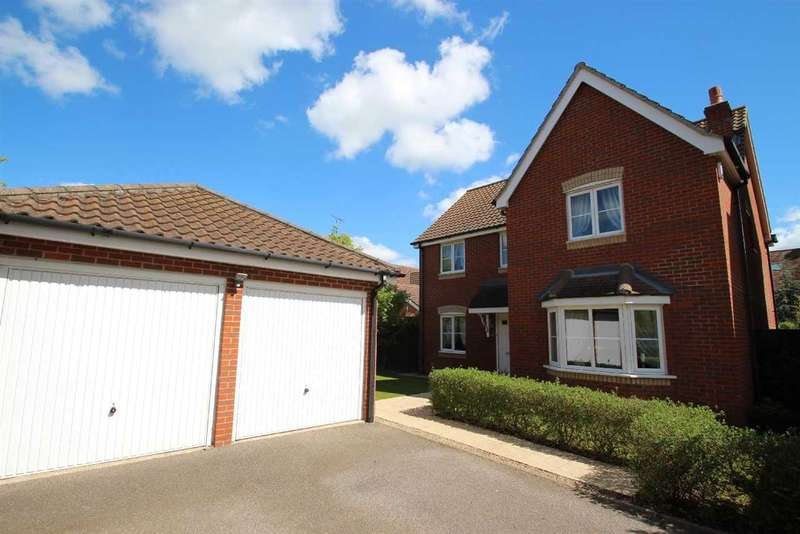 4 Bedrooms Detached House for sale in Castle Gardens, Grange Farm, Kesgrave, Ipswich