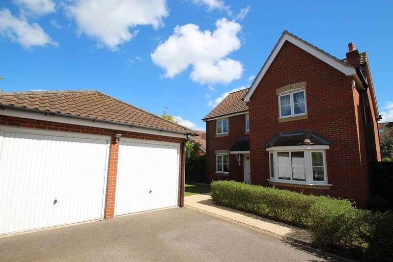 4 Bedrooms Detached House for sale in Castle Gardens, Grange Farm, Kesgrave, Ipswich