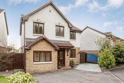 4 Bedrooms Detached House for sale in Waverley Crescent, Livingston