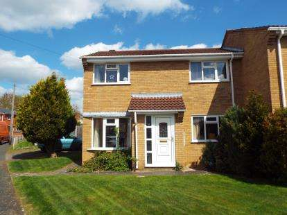 3 Bedrooms Semi Detached House for sale in Edward Road, Fleckney, Leicestershire