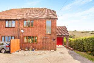 3 Bedrooms Semi Detached House for sale in Stonehall Road, Lydden, Dover, Kent