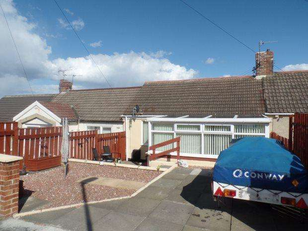 3 Bedrooms Terraced Bungalow for sale in GAYFIELD TERRACE, GRANTS HOUSES, PETERLEE AREA VILLAGES