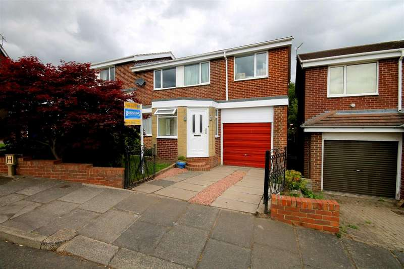 5 Bedrooms Semi Detached House for sale in Barnard Close, Newton Hall